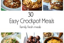 Crockpot recipes / by Cheryl Dressback