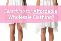 Wholesale Boutique Clothing / Leading Women's distributor in affordable wholesale clothing.