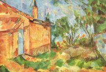 Paul Cézanne / (Aix-en-Provence, 19 de janeiro de 1839 - 22 de outubro de 1906) Pós-impressionismo, Cubismo, Impressionismo, Arte moderna
