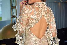 vestidos de tules bordados