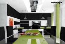 Livingroom/Stue / Livingroom architecture. Inspiration.