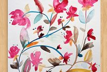 Gorgeous Floral Illustrations / Floral illustrations and other objects