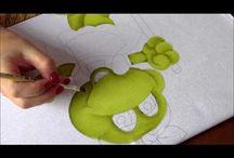 Pintura Em Tecido Videos