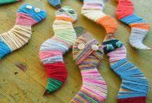 wool and yarn reptiles