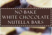 Bars, fudges, rolls, muffins and truffles recepies