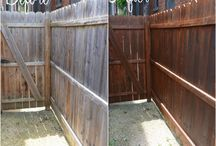 Stained Fences