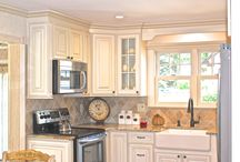 Kitchen Renovation in Massapequa, NY / We are a Certified Lowe's Independent Contractor here at Premier Building. This kitchen renovation we completed took place in Massapequa, NY.