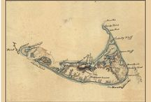 Nantucket Old Maps / A series of maps illustrating Nantucket Island from 1775 - 1893