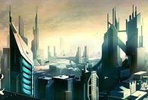 Futuristic / Infrastructure, transportation