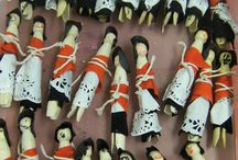 Welsh Peg Dolls