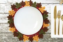 DIY AUTUMN LEAVES PLACEMATS WITH SABRINA SOTO