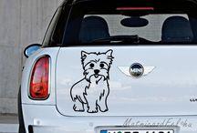 Állatos matricák / Látni kedvencedet matricán a szobád falán, laptopodon vagy az autódon... jó érzéssel tölt el....