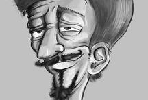 Karikatúra rajzolás - Rajzfilmanimacio.hu / Szeretnél ismerősödről vagy valamelyik családtagodról egy vicces rajzot? Karikatúra portré rajzolás kedvező áron!