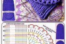 carteritas al crochet