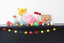 Awesomepoms / Crafts from Pom-Poms! (Quirk Books) and other awesome poms we see and love.