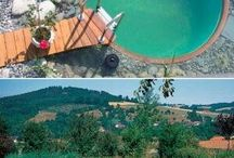 prírodný bazén-jazierko