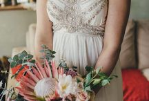 wedding floral natives