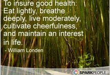 Motivational Quotes- Health and Wellness