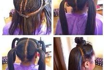 Afro American Hairstyle