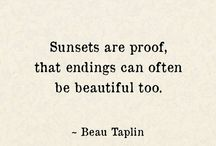 Sunsets quotes