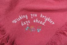 Get Well Blankets / A Warm Embrace makes the perfect Get Well Gift! When someone you care about is ill, a virtual hug, in the form of a Get Well Blanket, can be the best medicine. A Warm Embrace is the prefect blend of meaningful yet practical.