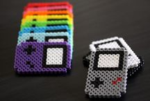 Perler Beads / Patterns and uses for the Perler (melting) Beads.