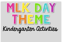 MLK Day Theme {Kindergarten Activities} / MLK Day Theme Activities Art, Science, Reading, Math, Writing, Technology and everything in Between