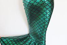 Ursula & Arielle / Costumes