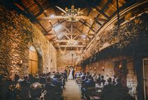 Threshing Hall / Our gorgeous 18th Century ceremony hall, full of rustic charm and a blank canvas for you to decorate and create your own wedding dreams.