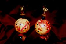 CAKKYSTUFF™ CREATIONS / Eclectic OOAK Art I've designed at www.cakkystuff.com. Jewelry, Vases, Furniture, Magnets, Paintings, Lampshades