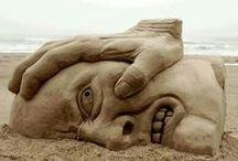 Escultura Exenta o de bulto redondo / Clasificación de la escultura según posición.