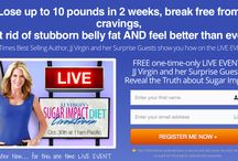 The Sugar Impact Diet / This Pin is created by NY Times best selling author, JJ Virgin, to bust open the hidden dangers of sugars and to support families to change the sugar epidemic.  / by JJ Virgin