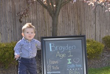 Brody's 1st Birthday Ideas / by Kyleigh Mayner