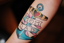 tattoos / by Maggie Humphries