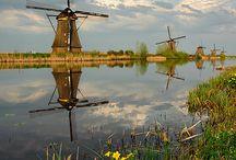 """Windmills"" / by Everett Faulkner"