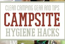 Camping, paddling