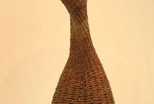 Basket -organic shape, sculptures