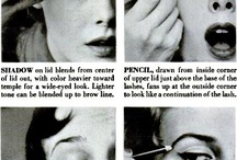 A Vintage Vixens guide to Beauty / Vintage and Retro hair, makeup, and beauty ideas and inspiration
