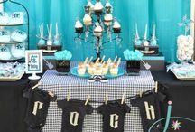LakeJudahTaula / Party ideas for my boys 1st party.