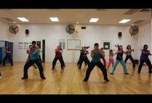 танцы фитнес видео