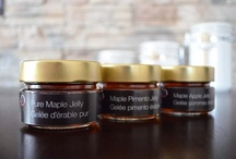'Plaisirs gourmands' / ROUGE Gourmet Collection of Organic Maple Syrup derived products