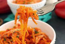 Spiral veggie recipes