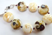 My creations - eigen werk / lampwork beads and jewelry