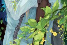 Projetos Ilustrações - Elfos