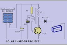 Charger Circuit / Electronic charger circuit project and schematic diagram