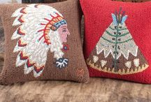 Urban Rustic Living / farmhouse chic, western décor, rustic décor, living room decorating, western style, farmhouse living room, throw pillows, southwest décor, western decorating ideas, southwest rugs Aztec pattern, turquoise decor, cowhide