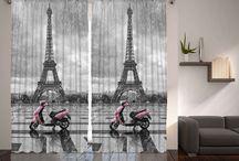 cortinas torre Eiffel