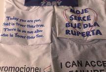 Pomysł na koszulkę / Marzysz o koszulce? My możemy ją dla Ciebie wydrukować. Mamy fajne fasony, ciekawe kolory i pomysłów w brud :) Odwiedź nas na https://www.facebook.com/promocjone