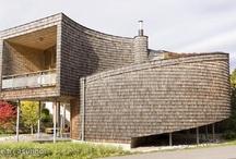 Architecture / Modern wood architecture
