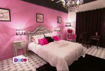 deco d'interieure chambre baroque girly